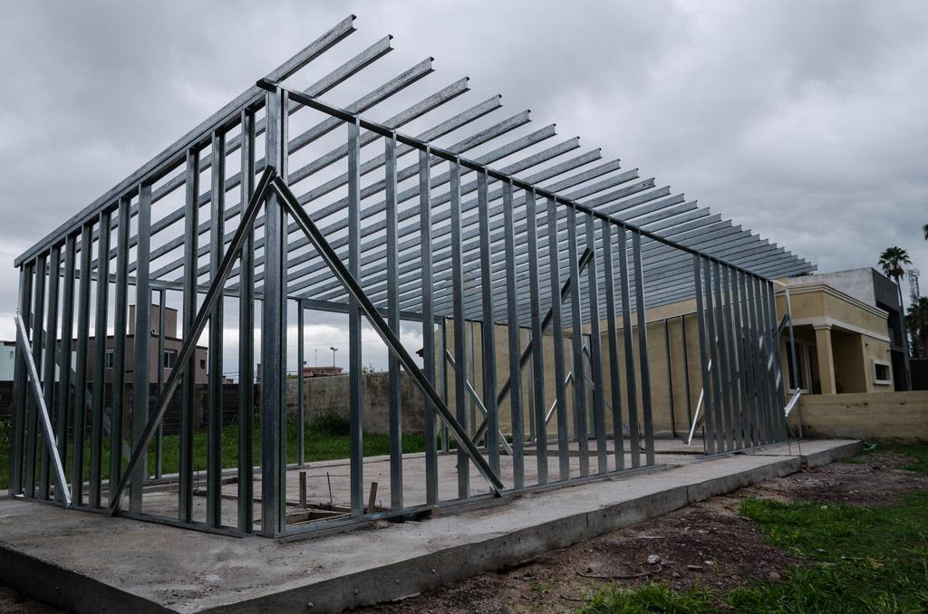 Estructura de acero de steel framing - Casas steel framing ...